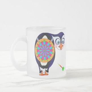 Pingouin de dard par Happy Juul Company Tasse Givré