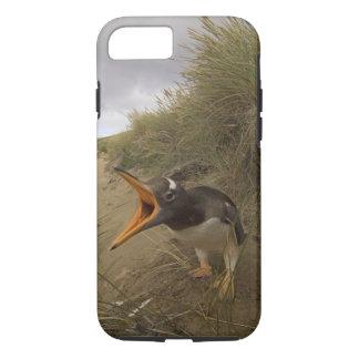 pingouin de gentoo, Pygoscelis Papouasie, sur le Coque iPhone 7
