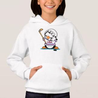 Pingouin de hockey sur glace
