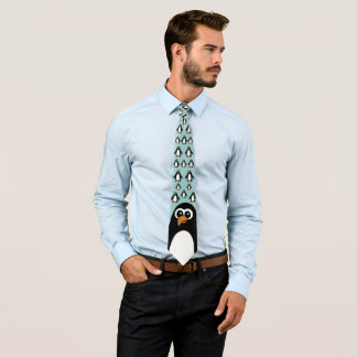 Pingouin de luxe cravates