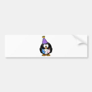 Pingouin de partie autocollant pour voiture