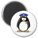 Pingouin de policier aimants
