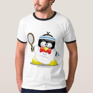 Pingouin de tennis t-shirt