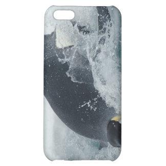 Pingouin d'empereur de plongée coques pour iPhone 5C