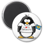 Pingouin du Delaware Aimant
