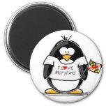 Pingouin du Maryland Aimants