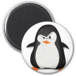 Pingouin fâché magnets pour réfrigérateur