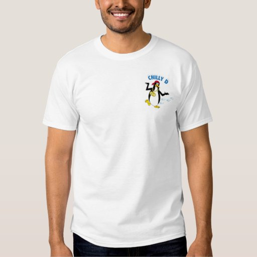 Pingouin frais de D - snowboarding T-shirts