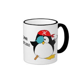 Pingouin frais de pirate mug ringer