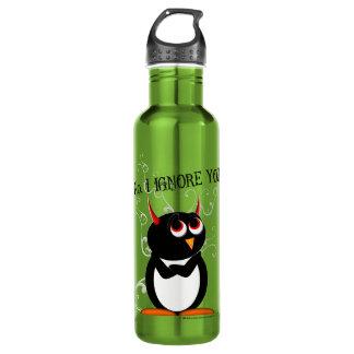 Pingouin mauvais sarcastique bouteille d'eau