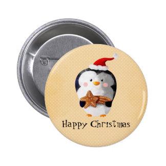 Pingouin mignon de Noël Pin's