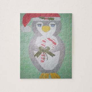 Pingouin mignon de Noël Puzzles