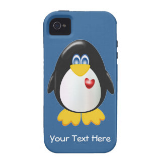 Pingouin personnalisable coque iPhone 4 vibe