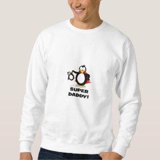 Pingouin superbe de papa sweatshirt