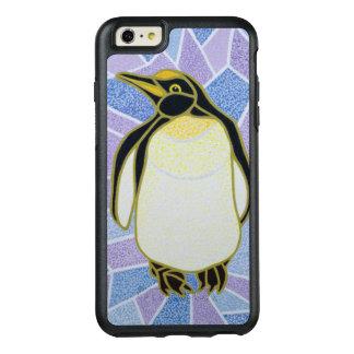 Pingouin sur le verre souillé coque OtterBox iPhone 6 et 6s plus
