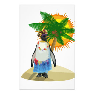 Pingouin tropical papeterie