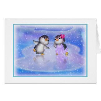 Pingouins ! carte de vœux