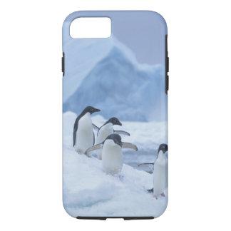 Pingouins d'Adelie (adeliae de Pygoscelis) sur la Coque iPhone 7