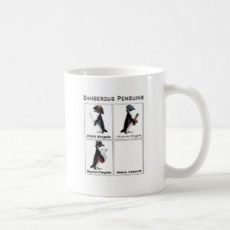pingouins dangereux mug
