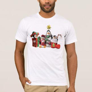 Pingouins de fête t-shirt