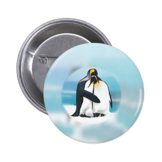 Pingouins par l'igloo badge