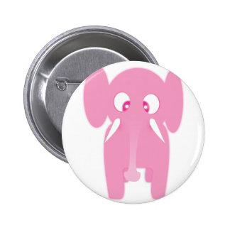 Pink elephant pin's avec agrafe