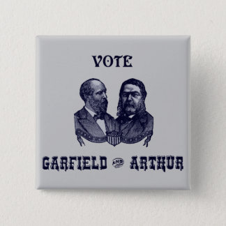 Pin's 1880 vote Garfield et Arthur, bleus