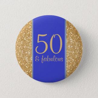 Pin's 50 et cinquantième anniversaire fabuleux