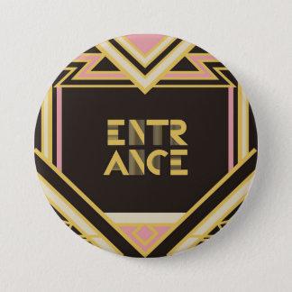 Pin's 7.6cm Can batch [Art Deco]