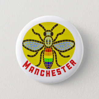 Pin's Abeille de Manchester