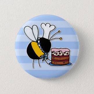 Pin's abeille de travailleur - chef de pâtisserie