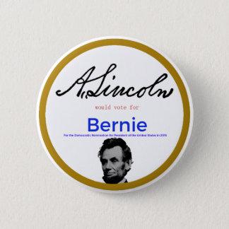 Pin's Abraham Lincoln pour des ponceuses de Bernie