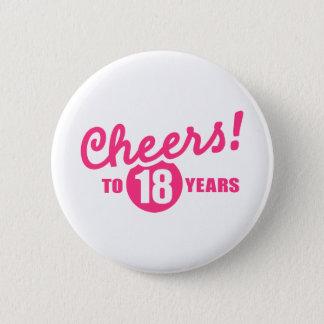 Pin's Acclamations à 18 ans d'anniversaire