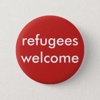 Pin's accueil de réfugiés