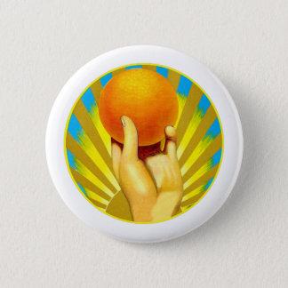Pin's Agrumes oranges de soleil d'oranges vintages