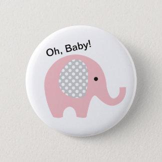 Pin's Ah, bébé ! Boutons avec l'éléphant