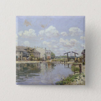 Pin's Alfred Sisley | le canal St Martin, Paris