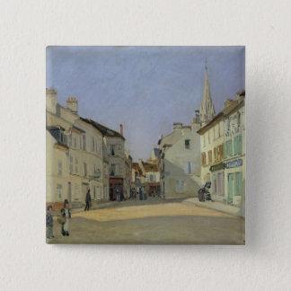 Pin's Alfred Sisley   Rue de la Chaussee à Argenteuil