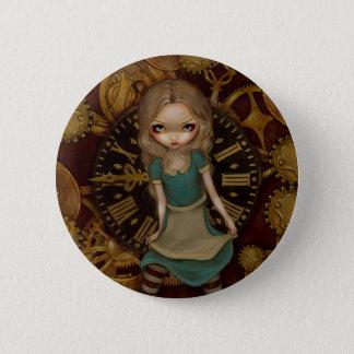 """Pin's """"Alice bouton dans rouages"""""""