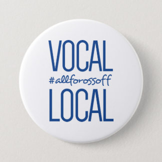 Pin's #AllForOssoff vocal et local - BLEU
