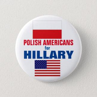 Pin's Américains polonais pour Hillary 2016