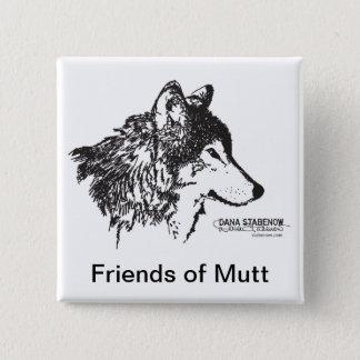 Pin's Amis de bouton de chien