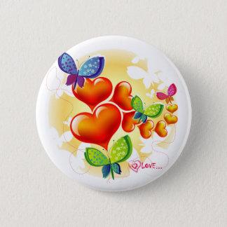 Pin's Amitié douce mignonne d'amour d'été de Colorfull