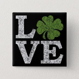 Pin's AMOUR de Jour de la Saint Patrick avec le shamrock