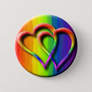 Pin's Amour gai du Gay Pride LGBT de coeurs de mariage