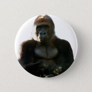 Pin's Animal frais et drôle de singe de gorille