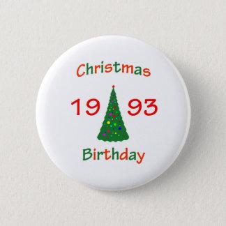 Pin's Anniversaire 1993 de Noël