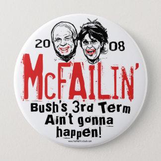 Pin's Anti bouton de McCain Palin McFailin