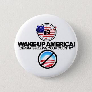 Pin's Anti Obama extrême plaisante le bouton 01