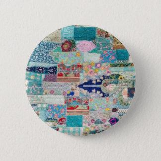 Pin's Aqua et conception bleue de tapisserie d'édredon